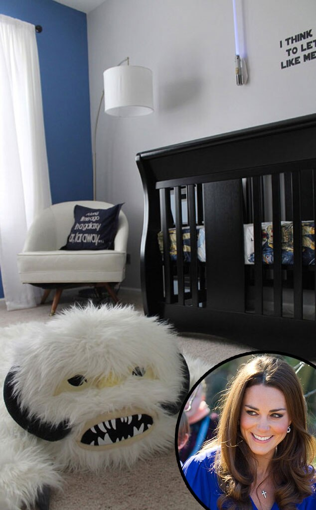 Star Wars Nursery, Duchess Catherine Kate Middleton