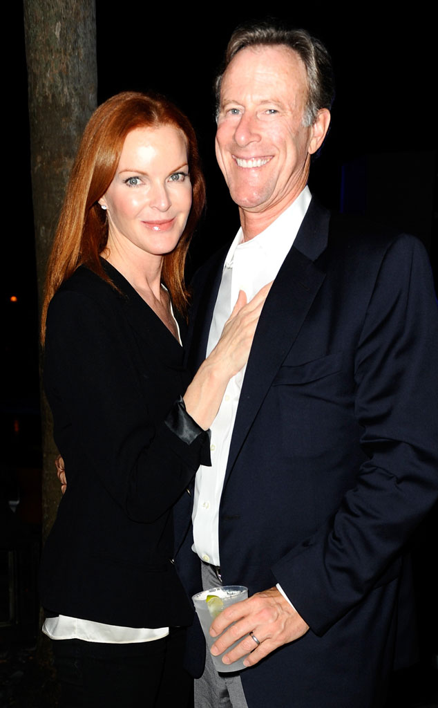 Marcia Cross, Tom Mahoney