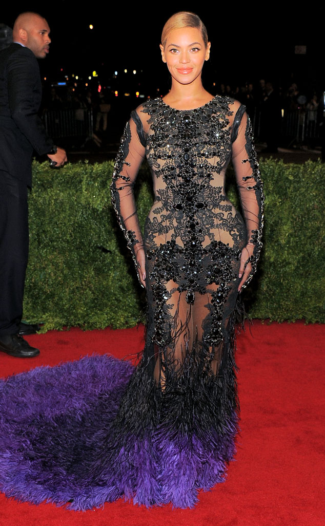 Beyonce, MET Gala, 2012