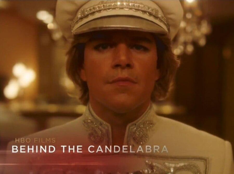Behind The Candelabra, Liberace, Matt Damon