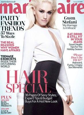 Gwen Stefani, Marie Claire