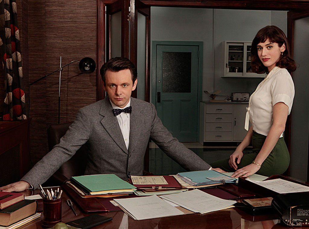 Masters of Sex, Michael Sheen, Lizzy Caplan