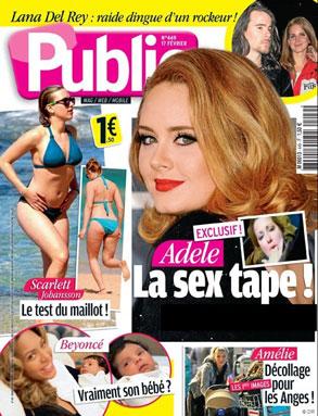 Adele, Public