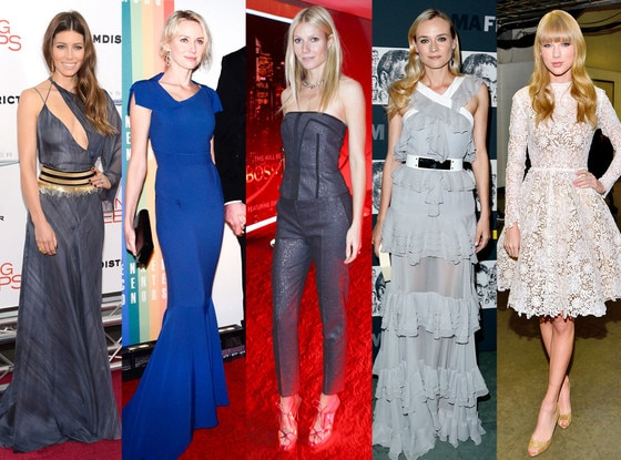 Best Looks: Jessica Biel, Naomi Watts, Gwyneth Paltrow, Diane Kruger, Taylor Swift