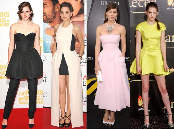 Celebs in Dior: Emma Watson, Marion Cotillard, Jessica Biel, Kristen Stewart