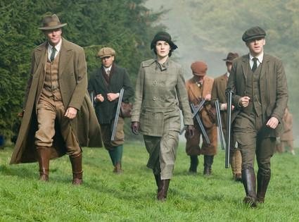 Downton Abbey, Iain Glen, Michelle Dockery, Dan Stevens