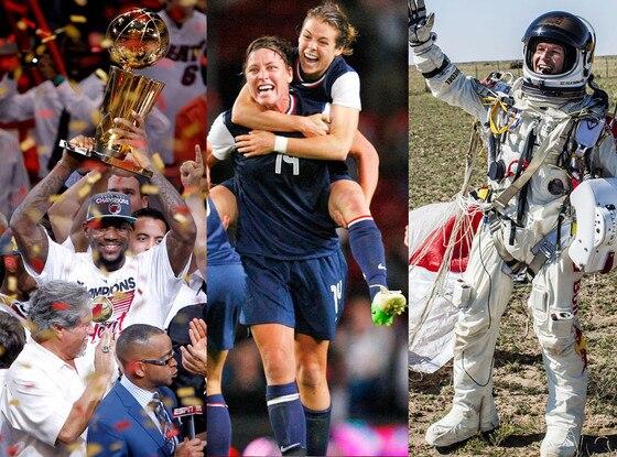 top 10 best sports moments split