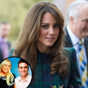 Kate Middleton, DJ Michael Christian, Mel Greig