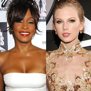 Taylor Swift, Whitney Houston