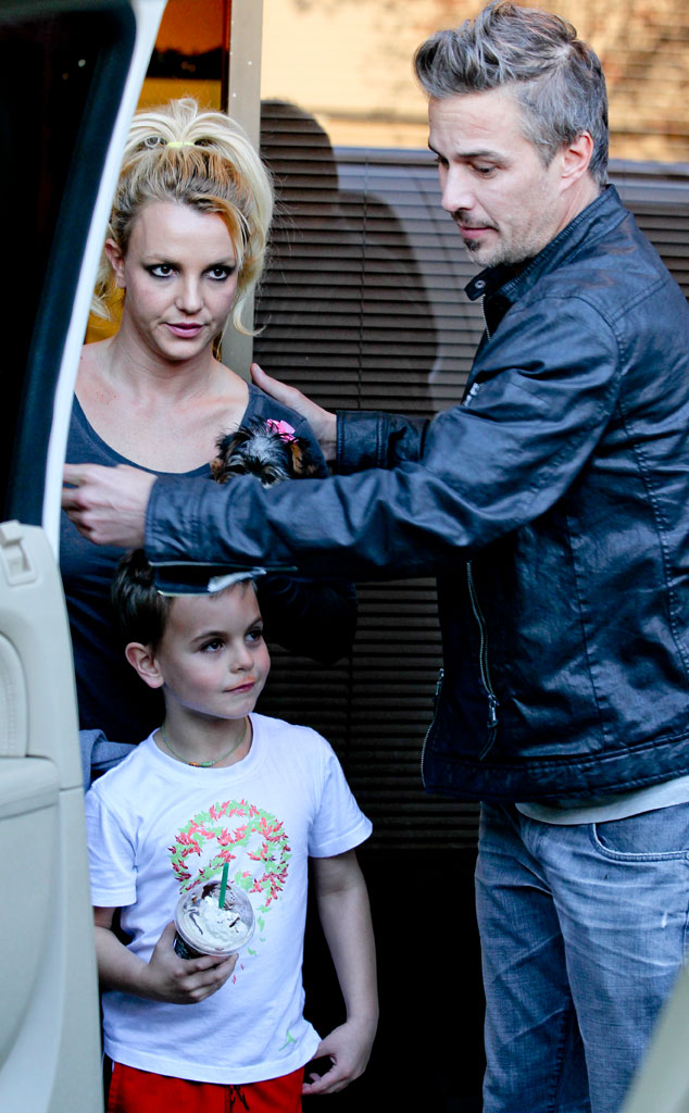 Britney Spears, Jason Trawick, Jayden James