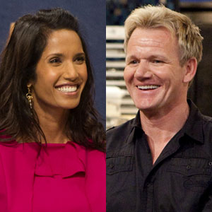 Padma Lakshmi, Top Chef, Gordon Ramsay