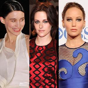 Rooney Mara, Kristen Stewart, Jennifer Lawrence