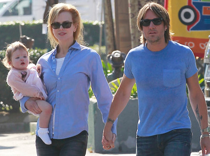 Faith Urban, Nicole Kidman, Keith Urban