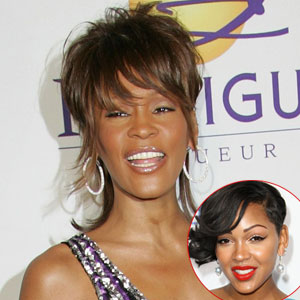 Meagan Good, Whitney Houston