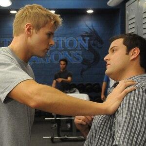 Max Adler, Aaron Hill, Glee