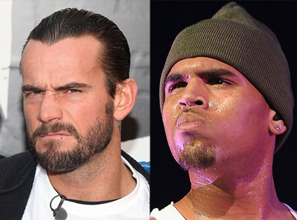 Chris Brown, CM Punk