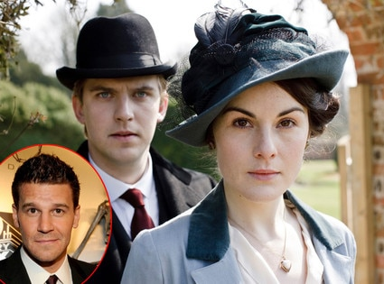 Michelle Dockery, Dan Stevens, Downton Abbey, David Boreanaz