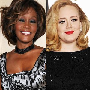 Whitney Houston, Adele