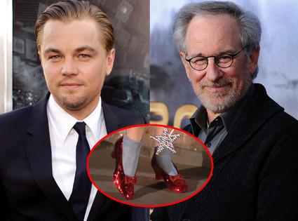 Leonardo Dicaprio, Steven Spielberg