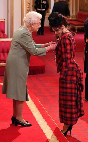 Queen Elizabeth II, Helena Bonham Carter