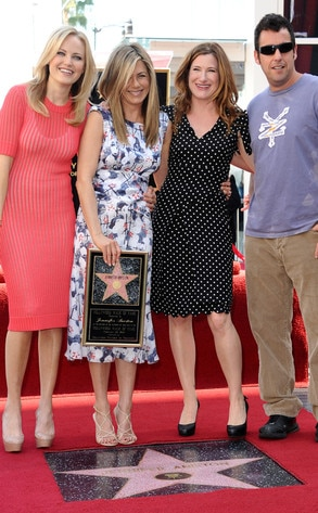 Malin Akerman, Jennifer Aniston, Kathryn Hahn, Adam Sandler