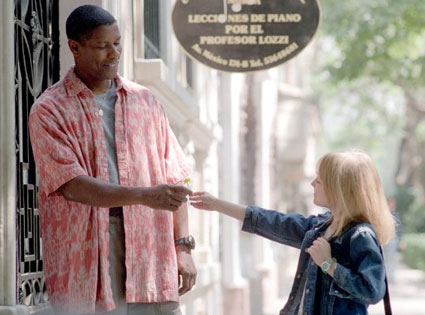 Man on Fire, Dakota Fanning, Denzel Washington