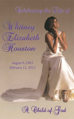 Whitney Houston Funerl Program