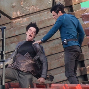 Benedict Cumberbatch, Zachary Quinto, Star Trek