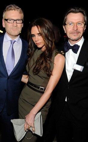 Kenneth Branagh, Victoria Beckham, Gary Oldman