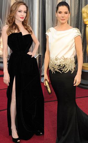 Angelina Jolie, Sandra Bullock