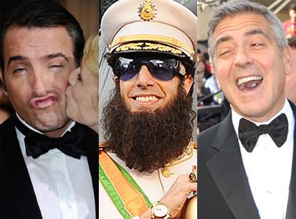 Jean Dujardin, The Dictator, George Clooney