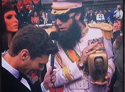 Ryan Seacrest, Dictator, Sacha Baron Cohen