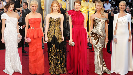 Oscar, Best Dressed