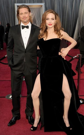 Brad Pitt, Angelina Jolie, Right Leg