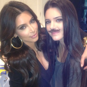 Kendall Jenner, Kim Kardashian, Twitter