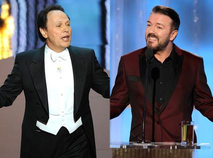 Billy Crystal, Ricky Gervais