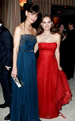 Katie Holmes, Natalie Portman