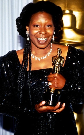Whoopi Goldberg, 1991 Best Supporting Actress from 10 ...