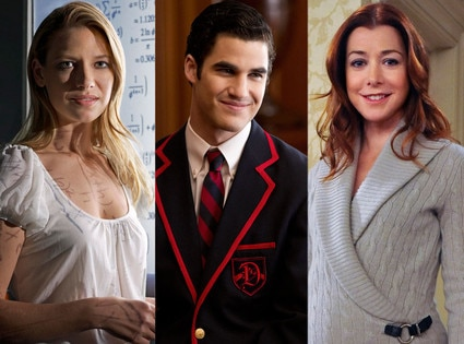 Darren Criss, Glee, Alyson Hannigan, How I Met Your Mother, Anna Torv, Fringe