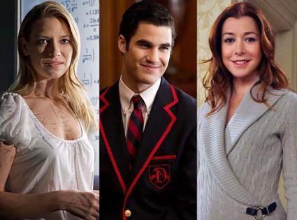 Darren Criss, Glee, Alyson Hannigan, How I Met Your Mother, Anna Torv, Fringe