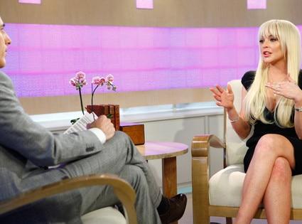Lindsay Lohan, Matt Lauer, Today Show