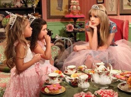 Sophia Grace, Rosie, Ellen Degeneres, Taylor Swift