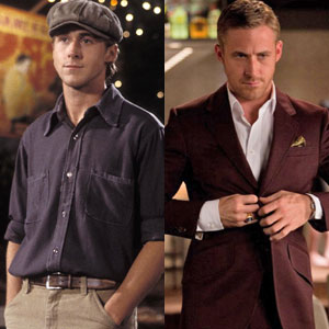 Ryan Gosling, The Notebook, Crazy, Stupid Love