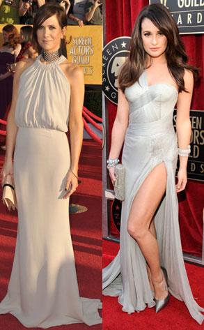 Lea Michele, Kristen Wiig