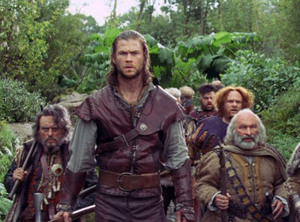 Snow White and the Huntsman, Chris Hemsworth