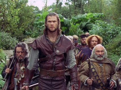 Snow White and the Huntsman, Chris Hemsworth