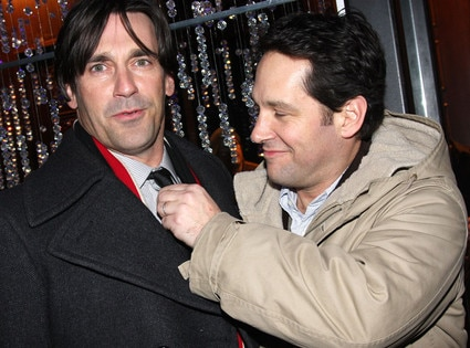 John Hamm, Paul Rudd