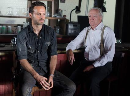 Rick Grimes, Hershel Greene, Walking Dead