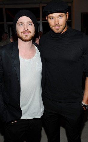 Aaron Paul, Kellan Lutz