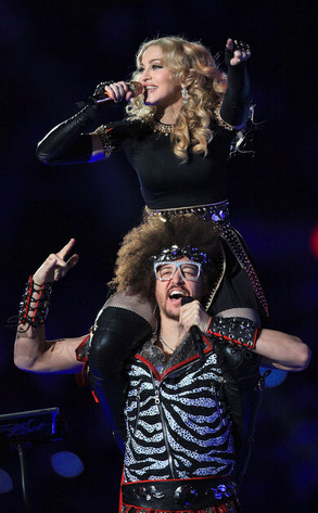 Madonna, Red Foo, LMFAO